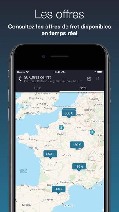 Screenshot #2 pour Chronotruck Chauffeur