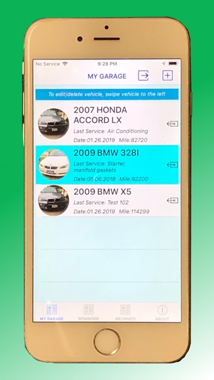 Vehicle Maintenance Tracker