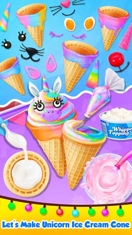 Carnival Unicorn Ice Cream screenshot-4