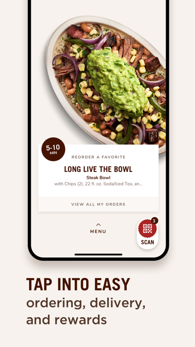 messages.download Chipotle software