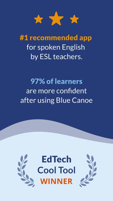 Blue Canoe: 英語・スピーキングのスクリーンショット1