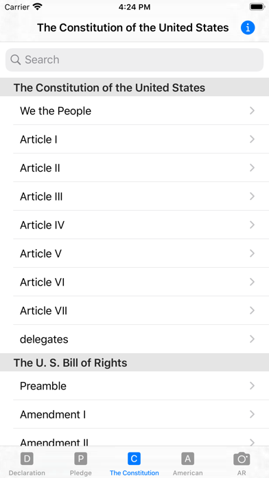our Constitution screenshot 5