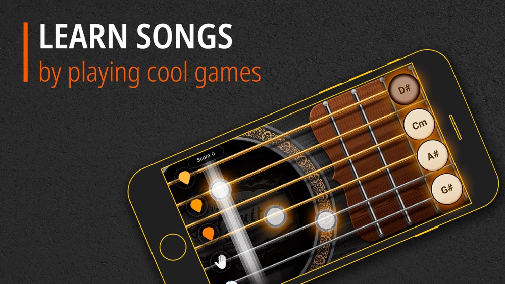 Guitar - Chords, Tabs & Games App for iPhone - Free Download