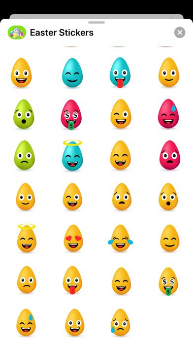 Happy Easter Stickers - Emojis Screenshot