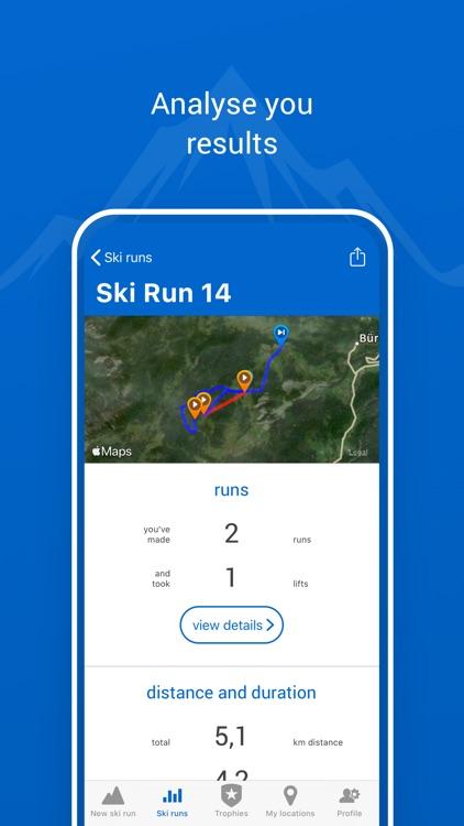 Ski run - ski/snowboard screenshot-3