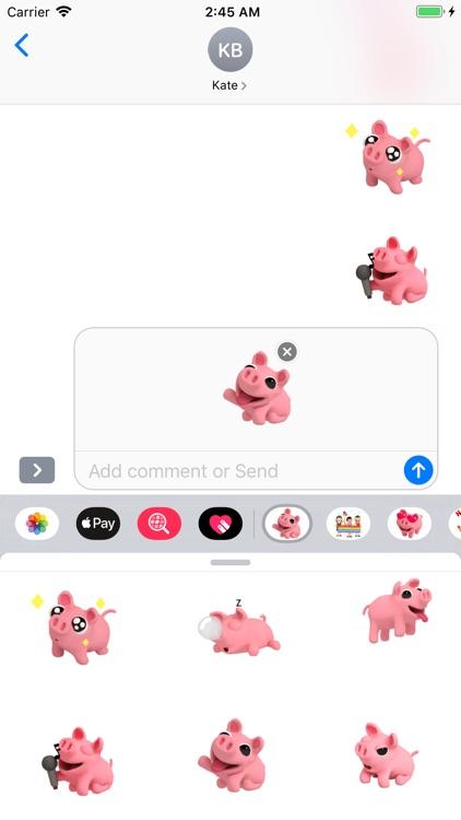 Piggy Bang Cutest Sticker Pack