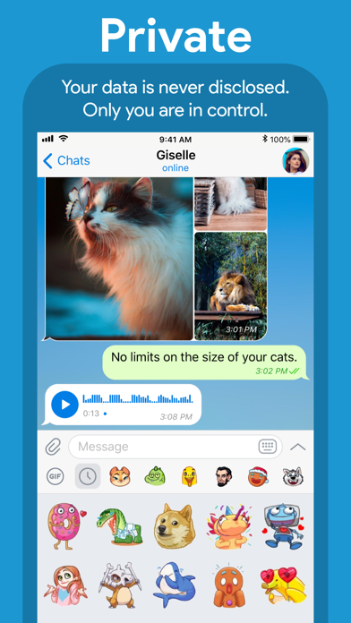 Screenshot for Telegram Messenger in Azerbaijan App Store