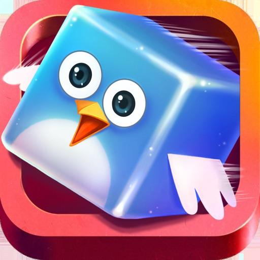 Rainbow Walls :Flappy And Jump iOS App