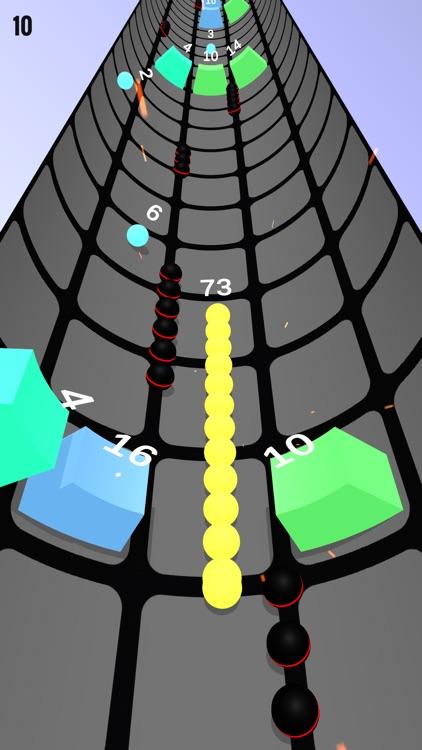 Rolly Snake Vs Vortex Block screenshot-6
