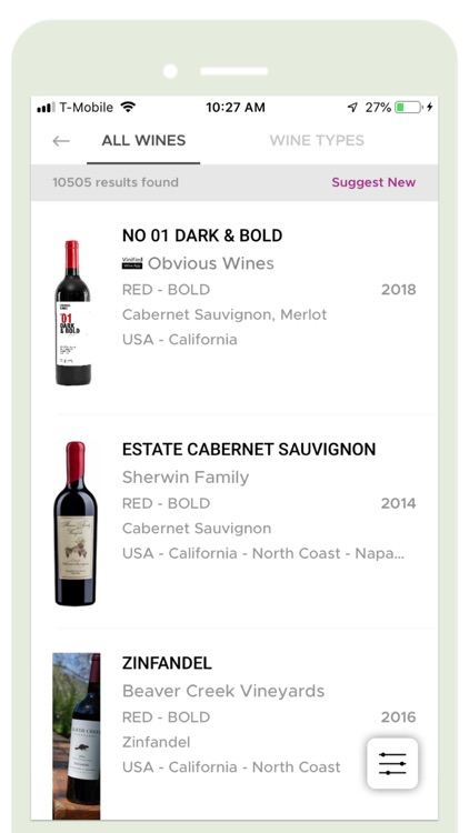 Vinified Wine & Spirits Search screenshot-4