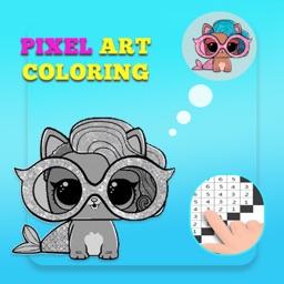 LOL Dolls - Pixel Art !
