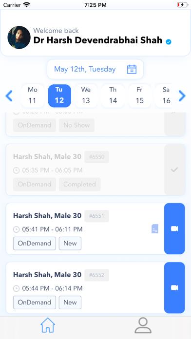 HealthxApp For Providers Screenshot
