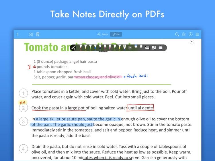 Flexcil - PDF, Annotate, Note screenshot-4