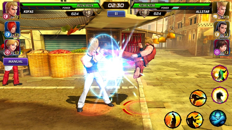 The King of Fighters ALLSTAR screenshot-5