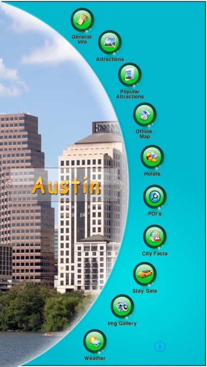 Austin Offline Map Guide