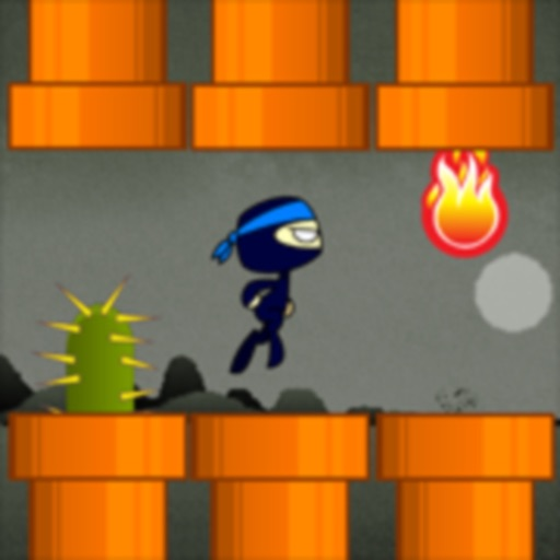 Ninja World Ride - Tap Game