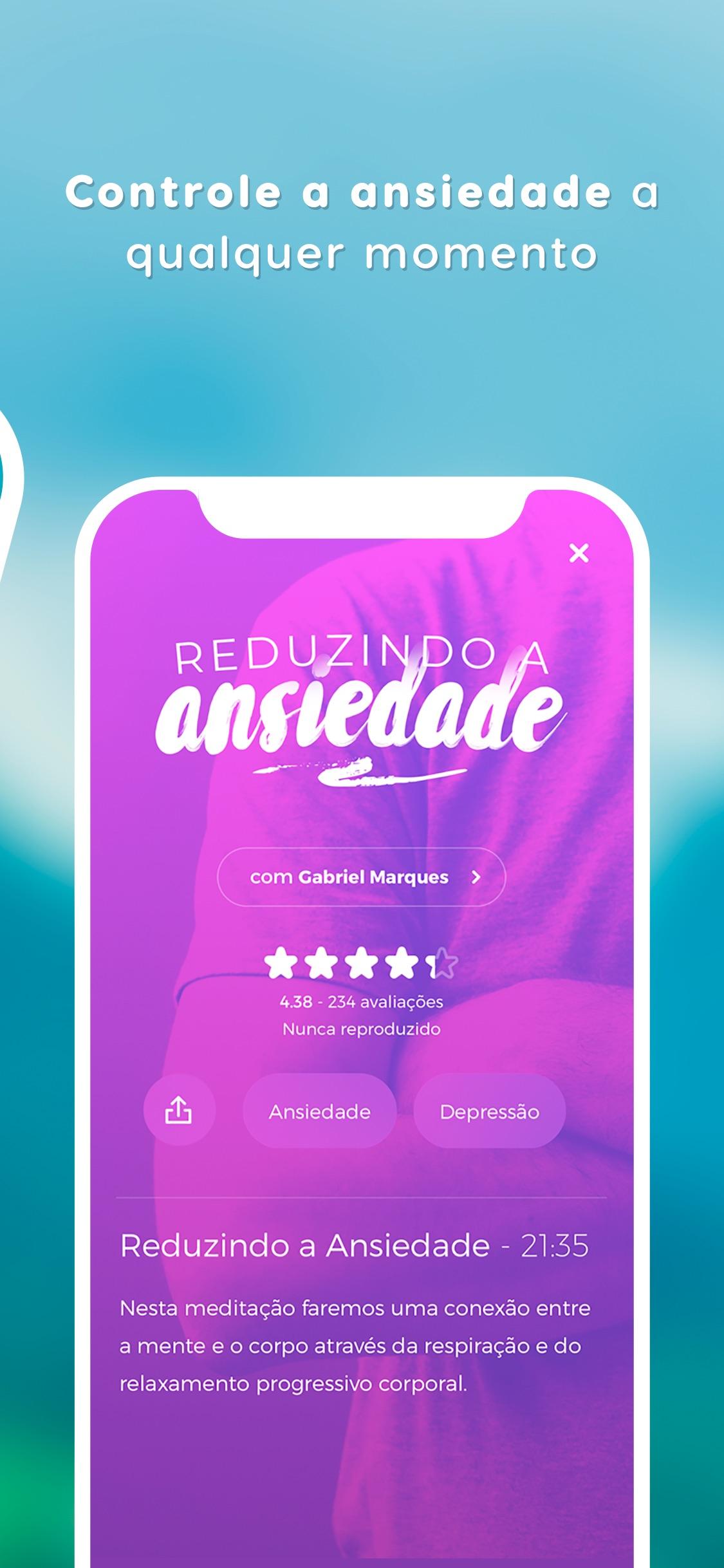 Screenshot do app Zen