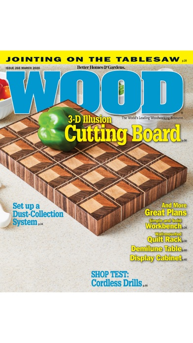 Wood Magazine Screenshot