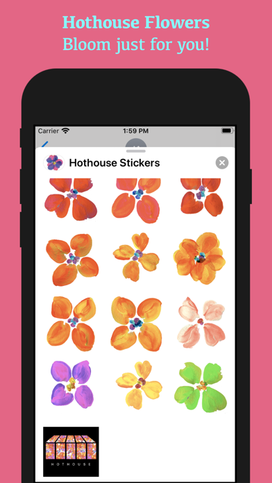 Hothouse Stickers screenshot 5
