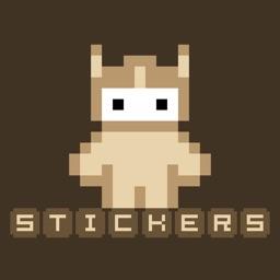 Pixeroids Stickers