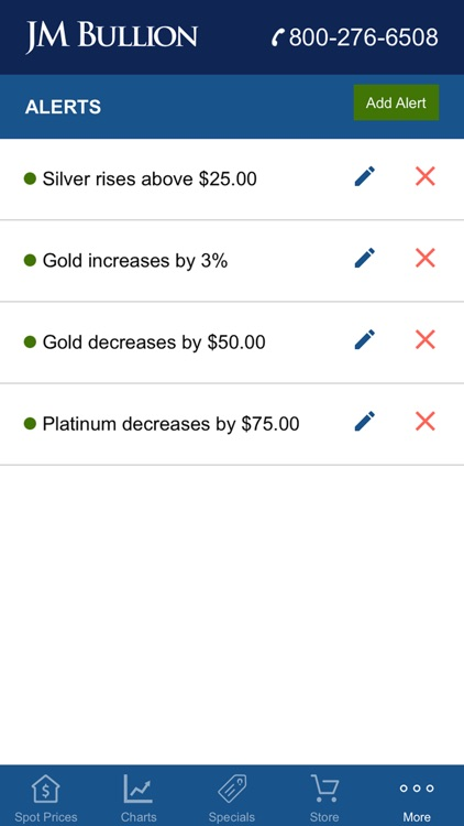 Gold & Silver Spot JM Bullion screenshot-4