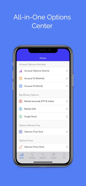 Options : Stock Option Center on the App Store