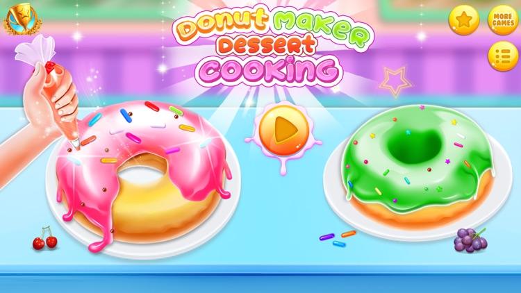 Donut Baking & Cooking Game screenshot-0