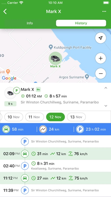 TRACKZONE tracking services screenshot-3