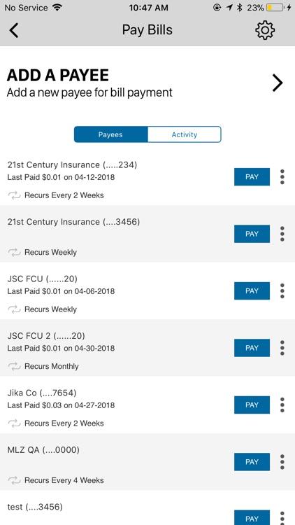 JSC FCU Mobile screenshot-3