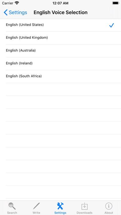 Synonyms English Dictionary screenshot-4