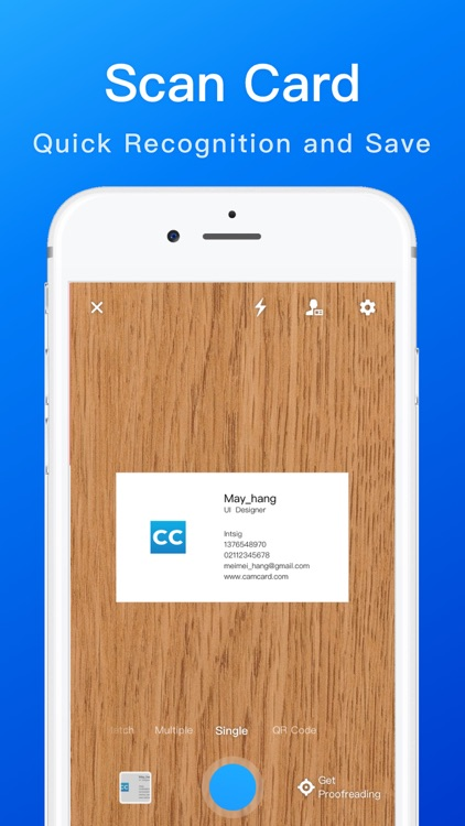 CamCard -Business Card Scanner