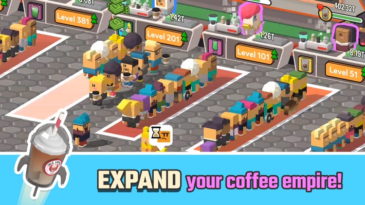 Idle Coffee Corp screenshot-4