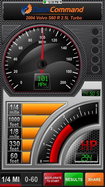 DashCommand - OBD-II Gauges screenshot-0