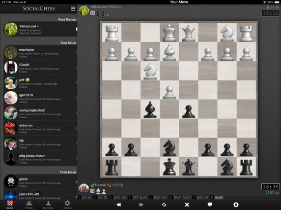 Chess - SocialChess screenshot