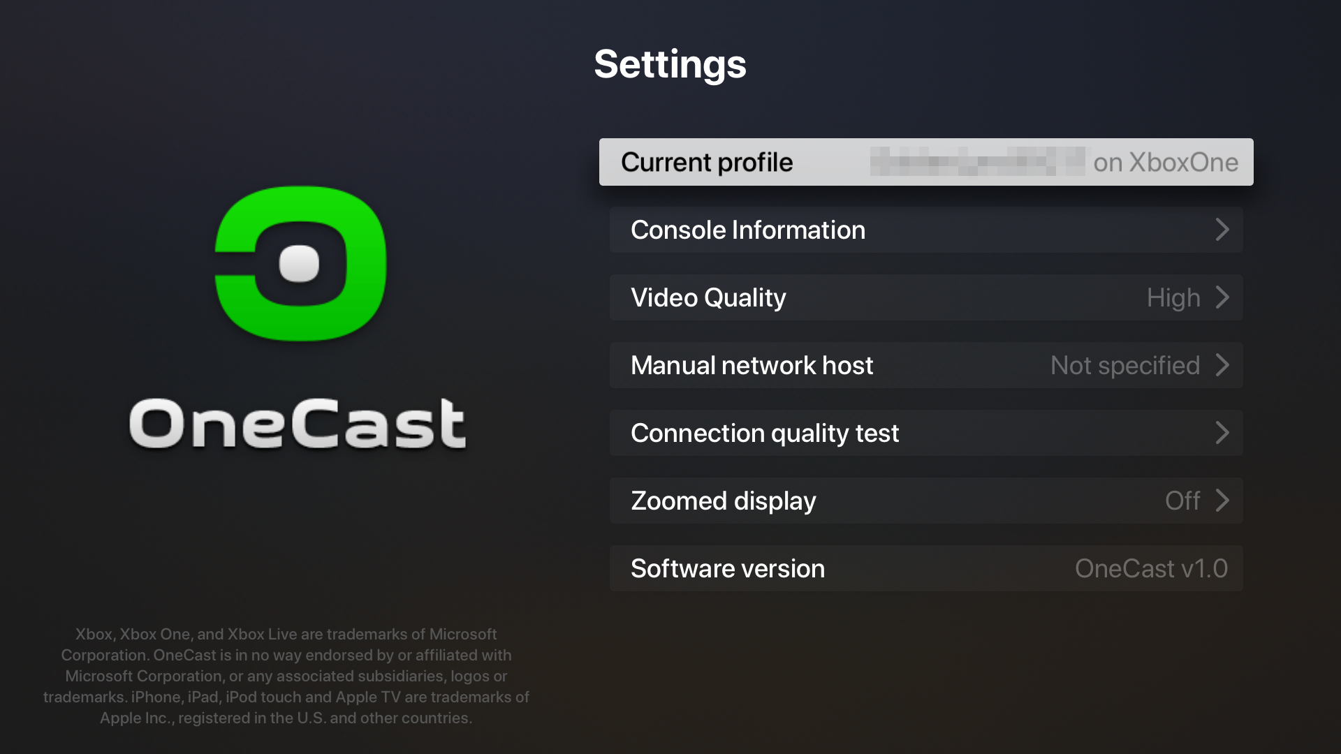 OneCast - Xbox Game Streaming screenshot 11