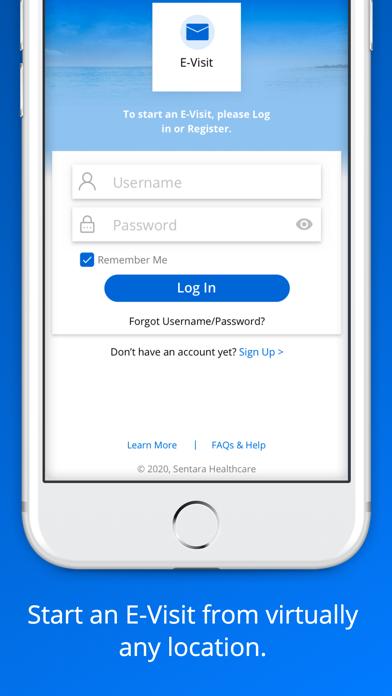 messages.download Sentara software