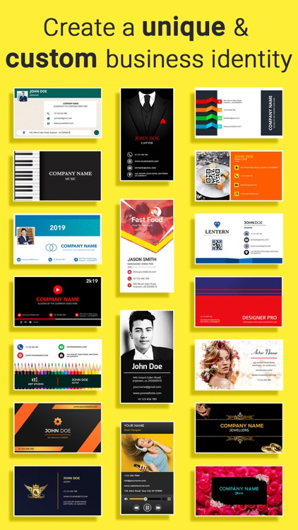 Business Card Maker, Make Card