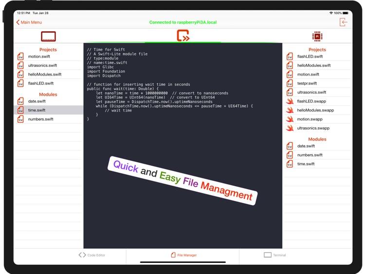 PiCode for Swift screenshot-6