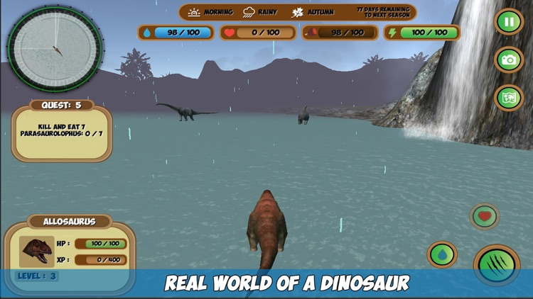 Allosaurus Simulator screenshot-2