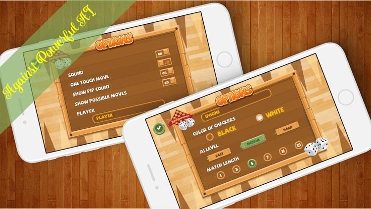 Backgammon Plus Pro screenshot-3