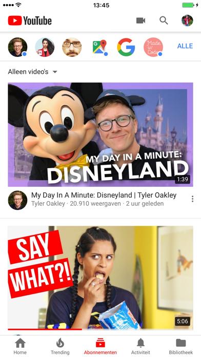 Screenshot for YouTube in Netherlands App Store