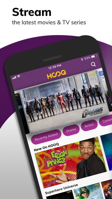HOOQ - Movies, TV Shows & News - Revenue & Download estimates