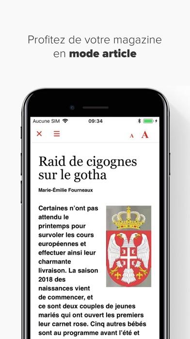 Point De Vue Magazine review screenshots