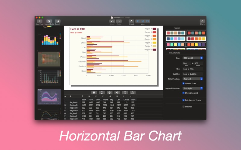 ZCharts for Mac