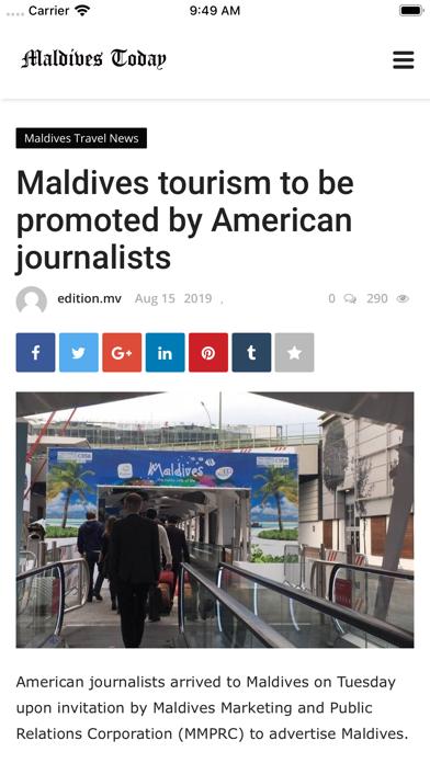Maldives Today screenshot 7