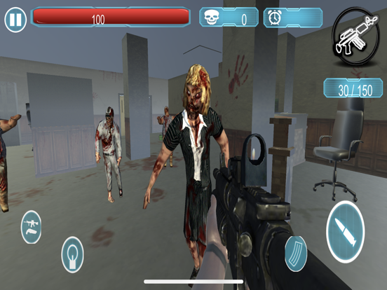 Dead Zombie Killer Sniper 3D screenshot 6