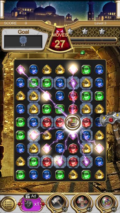 Jewels Magic Lamp screenshot 1
