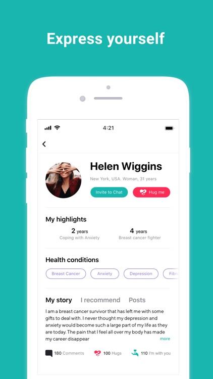 WeAreMore: Peer Support App screenshot-4