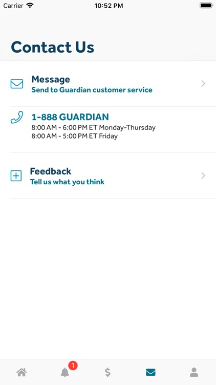 GUARDIAN® Accounts & Policies screenshot-4