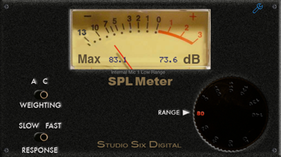 Screenshot for SPL Meter in Greece App Store